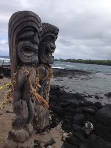 The sacred ancient Hawaiian City of Refuge
